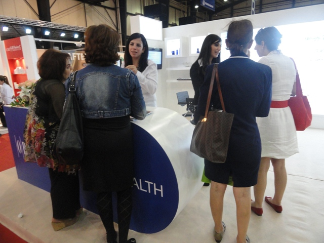 Obagi at the third edition of the In-Shape Fair